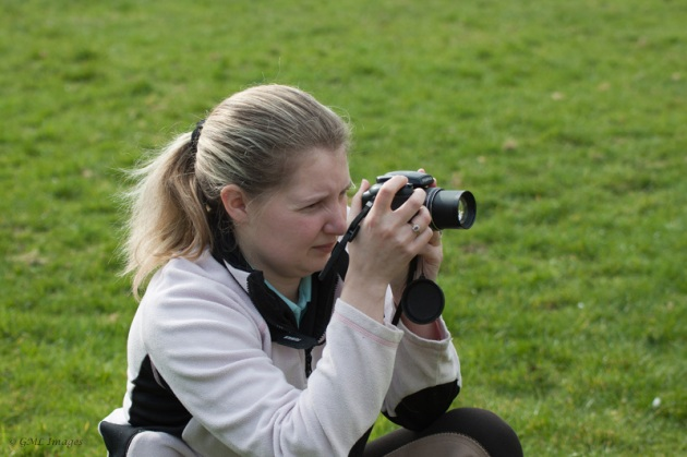 A photography student